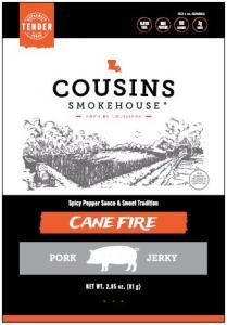 COUSINS-JERKY PORK CANE FIRE